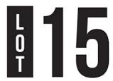 Lot 15 Wine bar logo